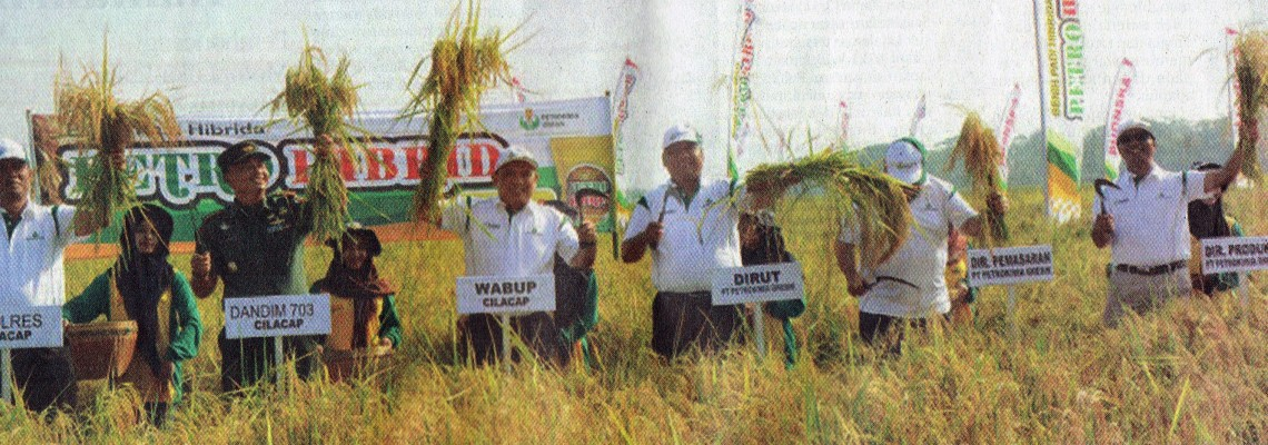 HARVEST: The Vice Regent of Cilacap led the Harvest